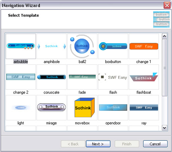 Sothink SWF Easy, Development Software Screenshot