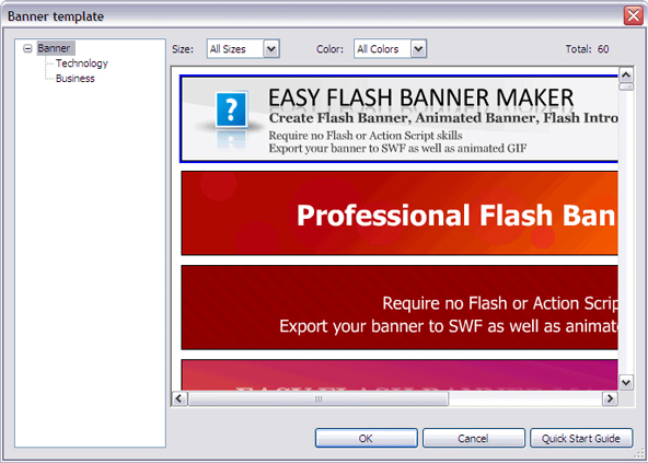 Sothink SWF Easy, Flash Software Screenshot