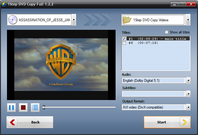 Video Player Software, SoundTaxi Media Suite Screenshot