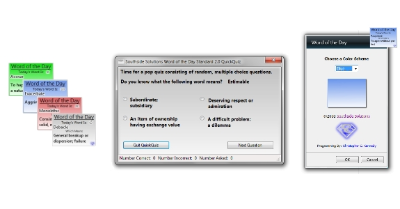 Southside Solutions Word of the Day Windows Bundle 2.0.1 Screenshot