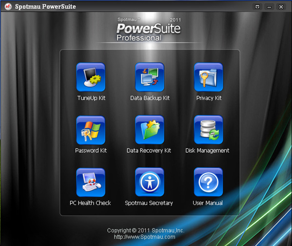 Spotmau Powersuite 2011 Screenshot