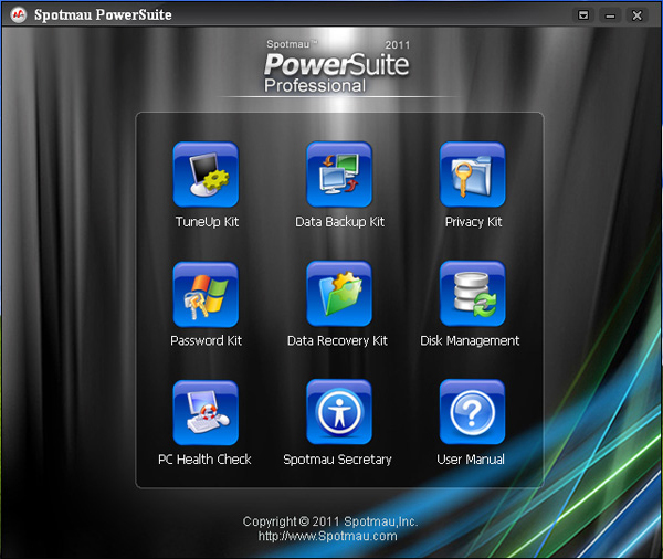 Spotmau PowerSuite Golden Edition Screenshot