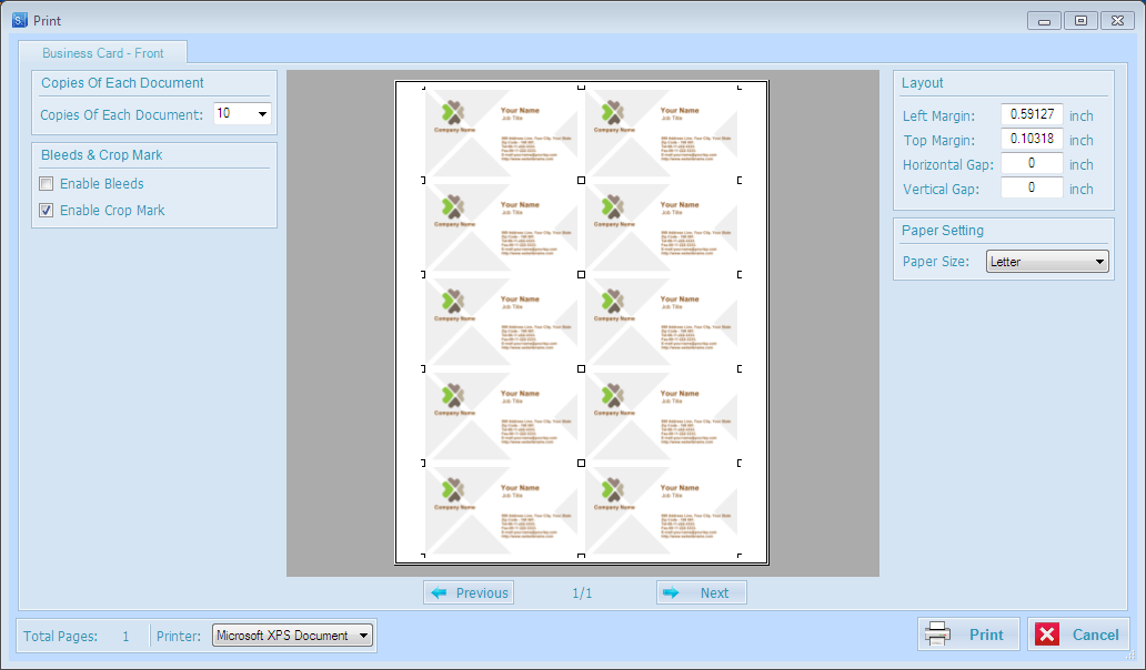 SpringPublisher Pro, Productivity Software Screenshot