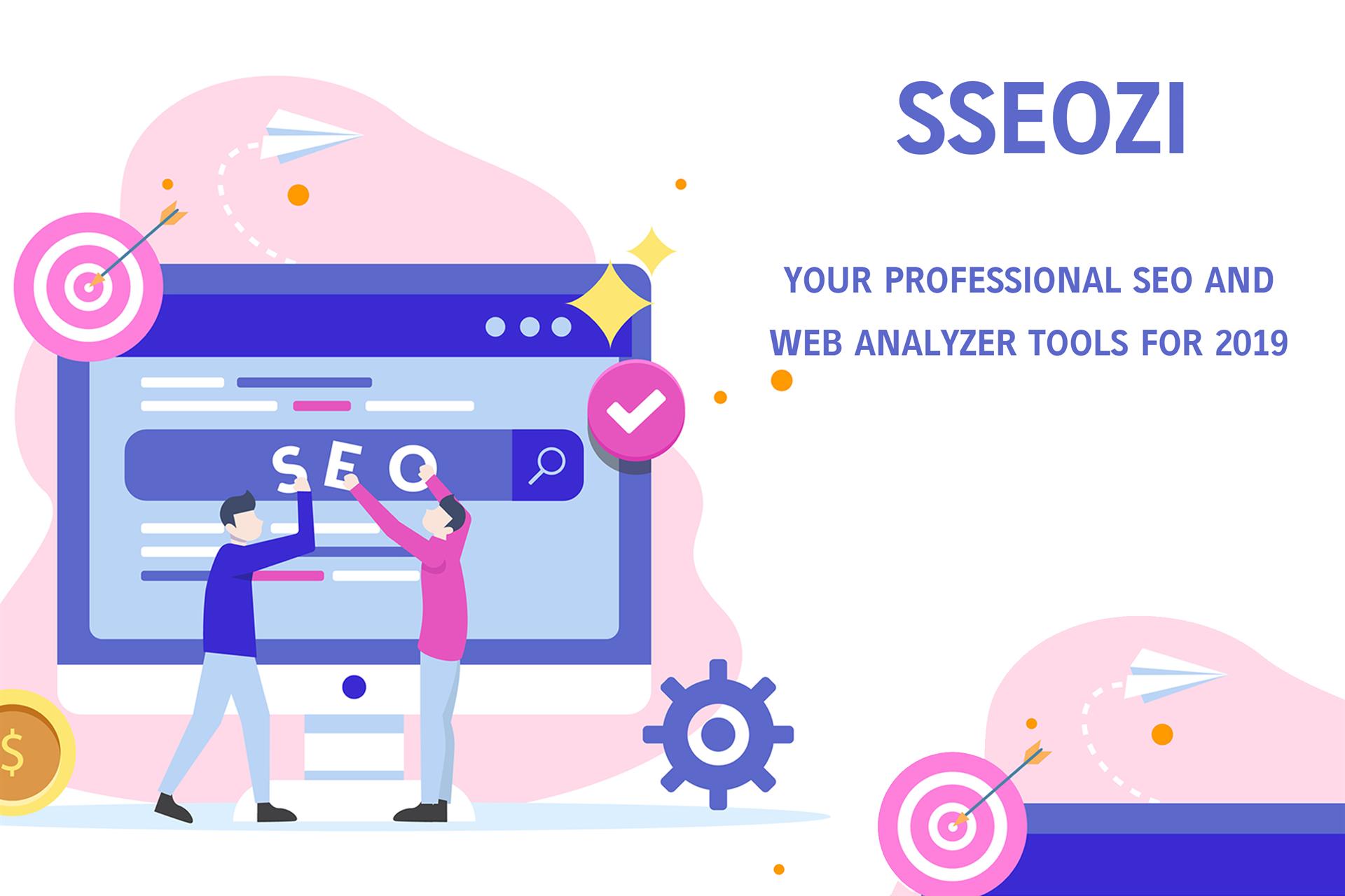 SSEOZI - Professional SEO Tools Screenshot