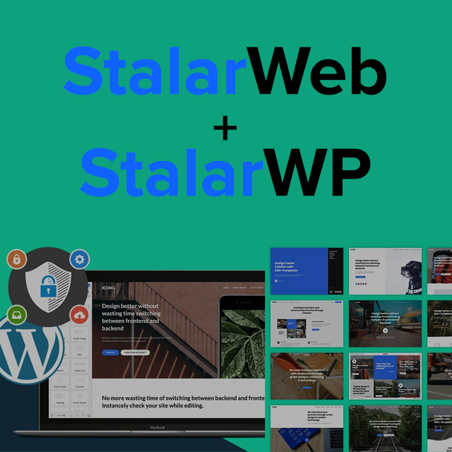 Stalar HTML + WordPress Website Builder Bundle: Lifetime Subscription Screenshot