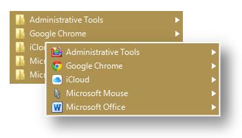 App Launcher Software, Start Menu 10 Screenshot