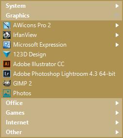 Start Menu 10, Desktop Customization Software Screenshot