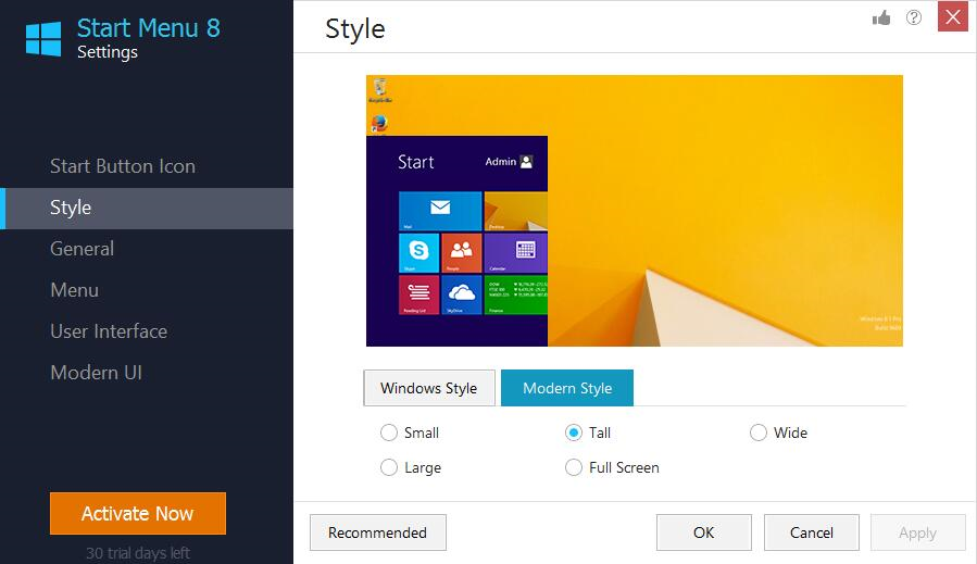 Start Menu 8 Screenshot 11