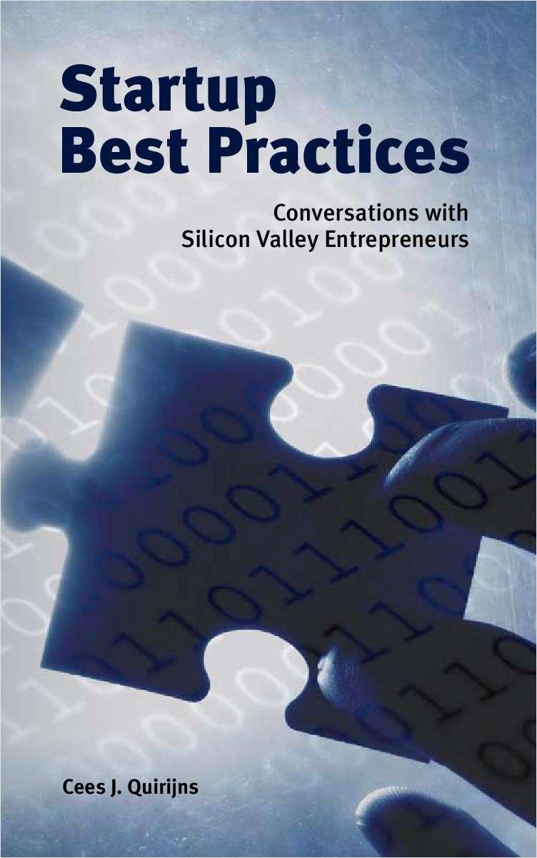 Startup Best Practices from 15 Serial Entrepreneurs Screenshot
