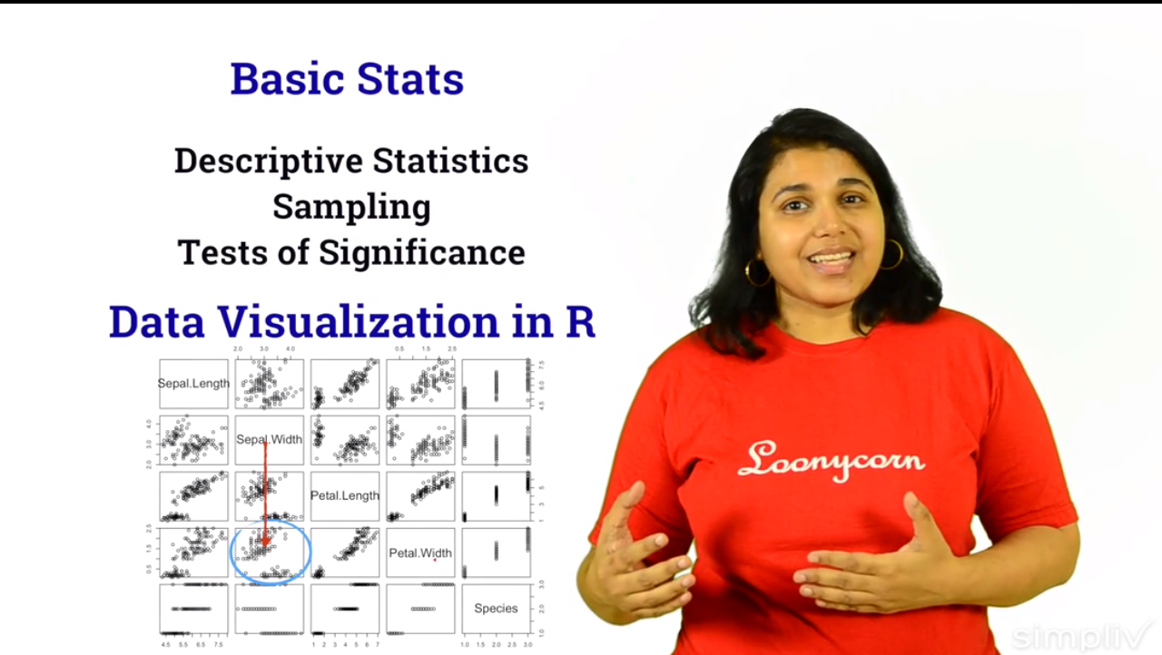 Statistics and Data Science in R | Simpliv, Hobby, Educational & Fun Software Screenshot