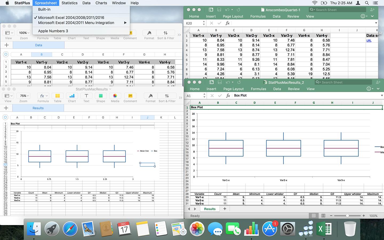StatPlus, Spreadsheet Editors Software Screenshot