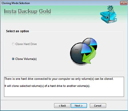 Stellar Insta Backup Gold, Security Software Screenshot