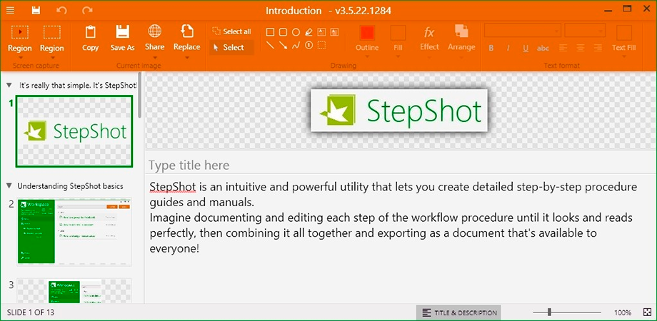 StepShot Screenshot