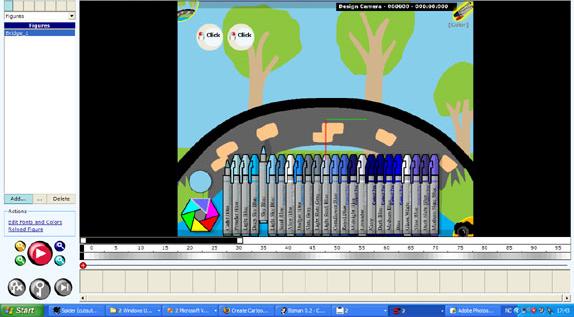 Design, Photo & Graphics Software, Stickman & Elemento Screenshot