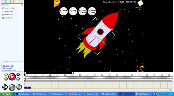 Stickman & Elemento, Design, Photo & Graphics Software, Animation Software Screenshot