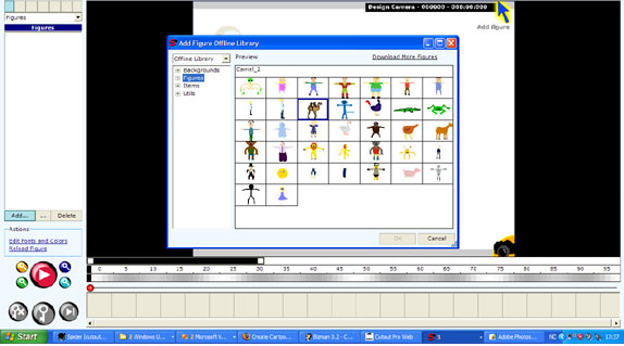 Stickman & Elemento, Design, Photo & Graphics Software Screenshot
