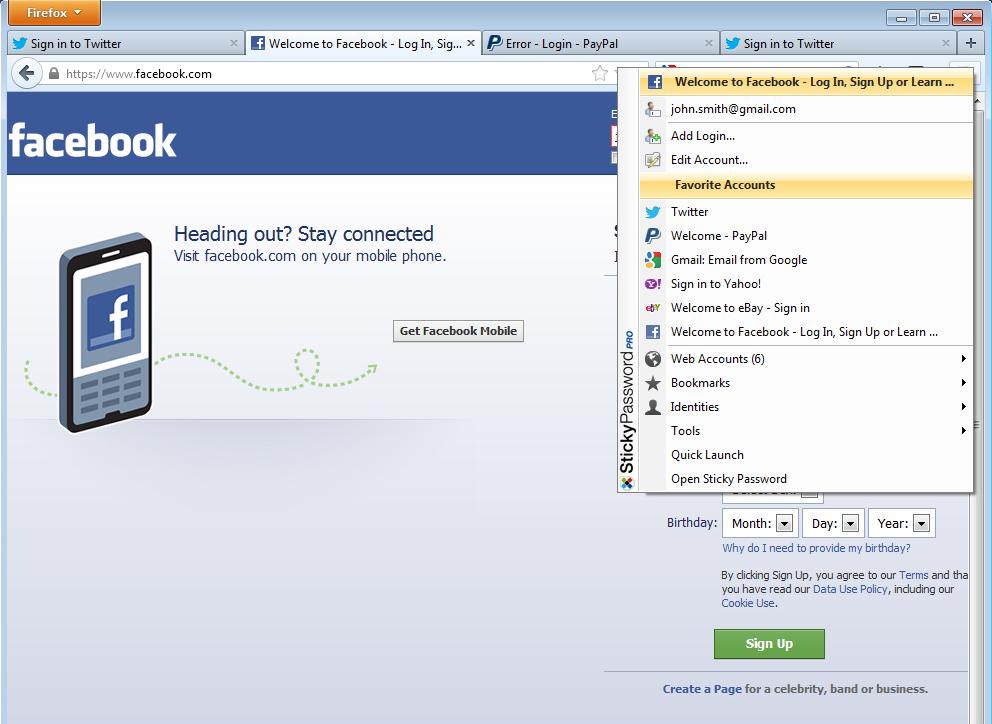 Sticky Password Screenshot 8