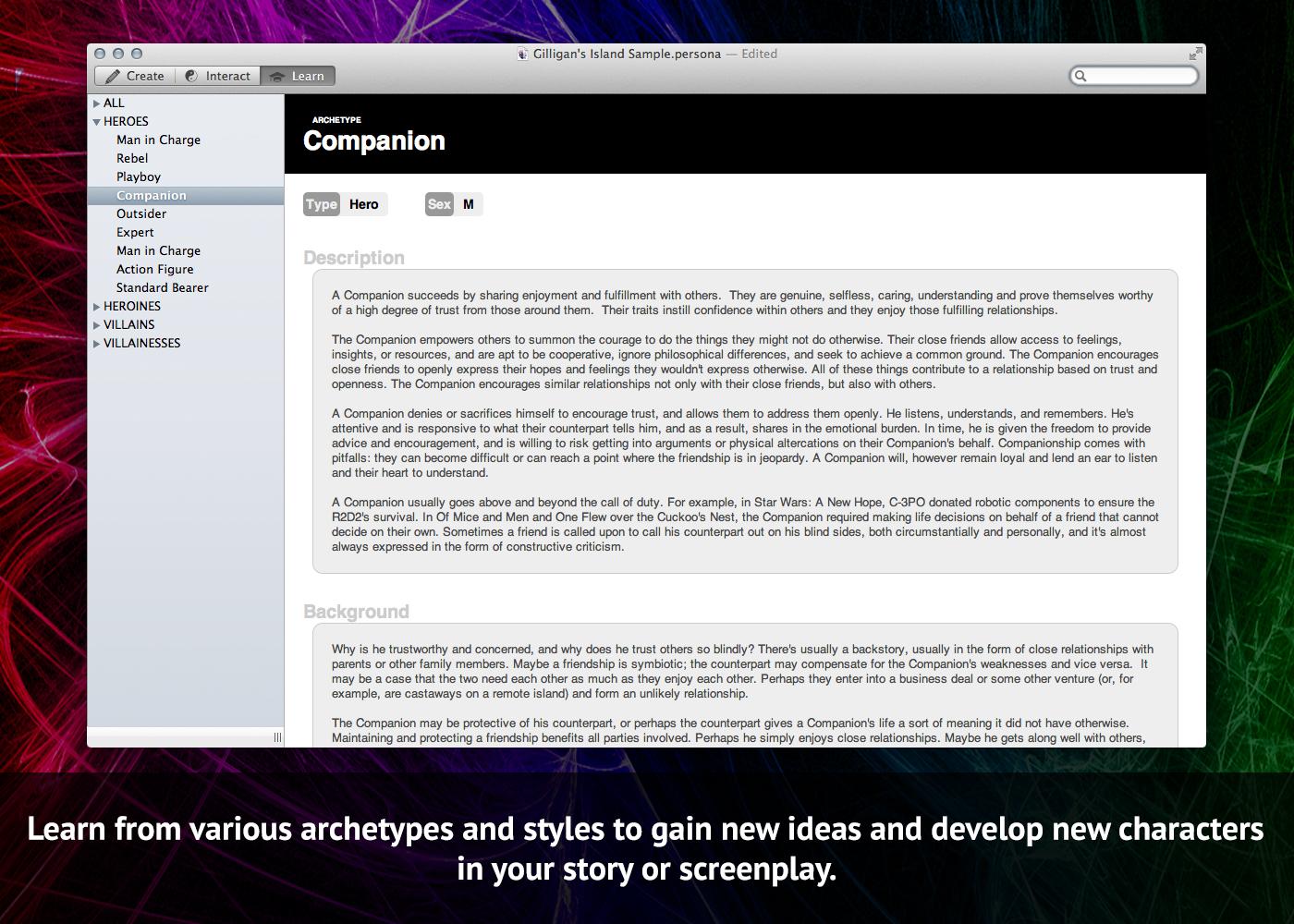 Story & Character Development Bundle, Writing and Journaling Software Screenshot