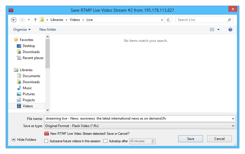 Streaming Video Downloader Screenshot