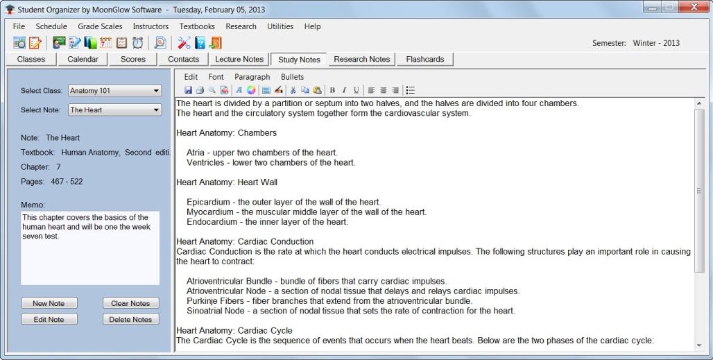 Productivity Software, Organization Software Screenshot