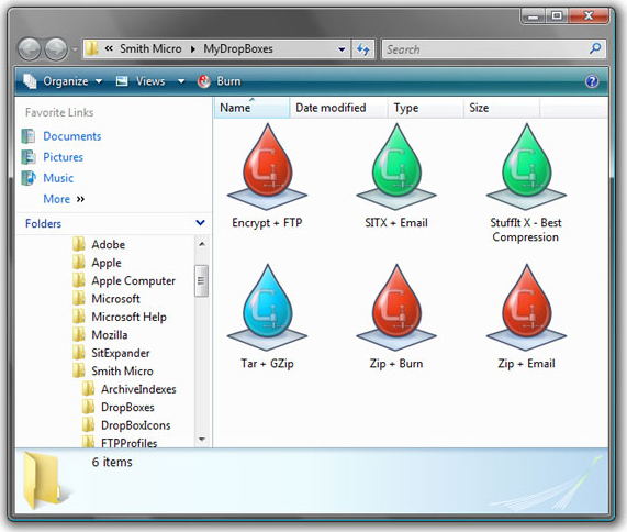 StuffIt Deluxe, Compression and Extraction Software Screenshot