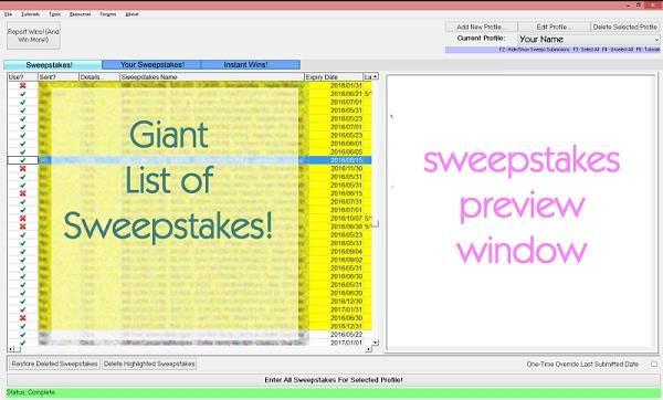 SweepersChoice Bundle (1-month Premium, MILLIONAIRES, Captcha III) Screenshot