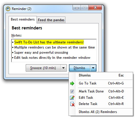 Swift To-Do List 11 & Productivity Guide, Productivity Software, To-Do List Software Screenshot
