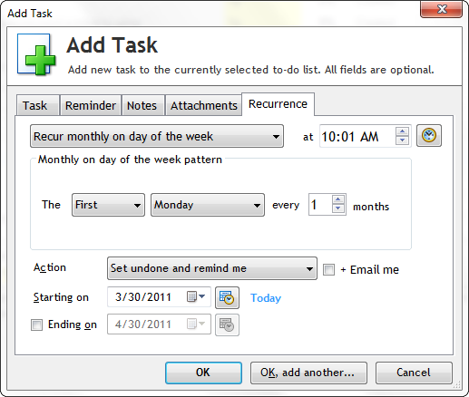 Productivity Software, To-Do List Software Screenshot