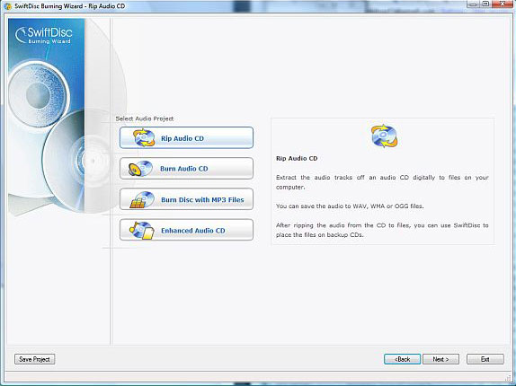 DVD Burner Software Screenshot