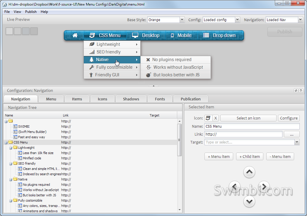 Swimbi Screenshot