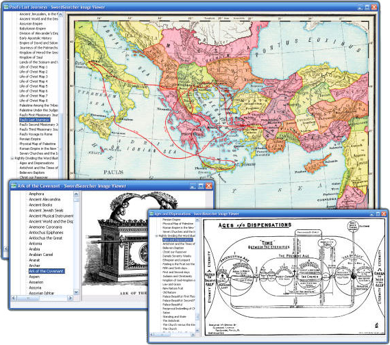 Hobby, Educational & Fun Software, SwordSearcher Bible Software Screenshot