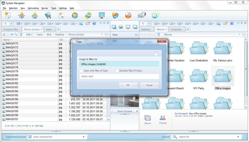 System Navigator 2014, Software Utilities Screenshot