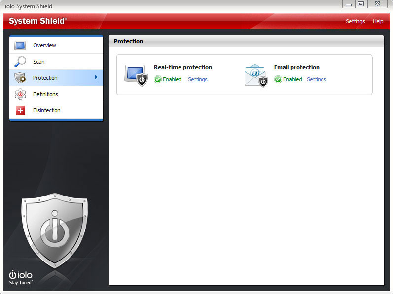 Security Software, System Shield AntiVirus & AntiSpyware Screenshot