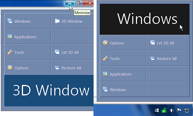 T3Desk, Productivity Software Screenshot