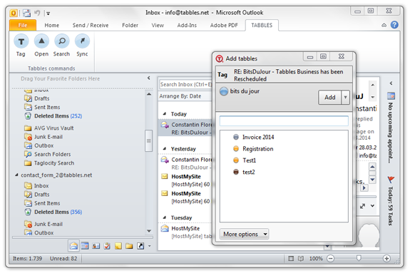 Tabbles 5 - File Management Software Download for PC