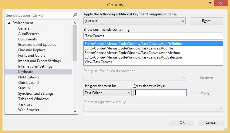 Task Canvas, Development Software Screenshot