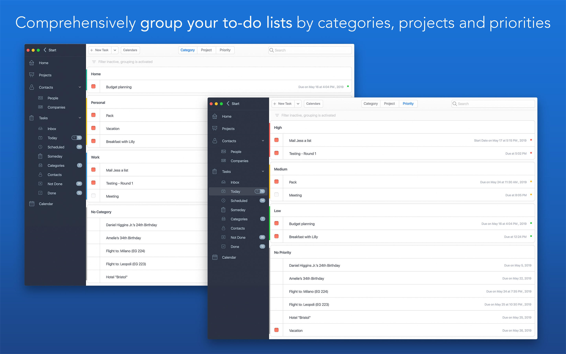 Task Office, Productivity Software Screenshot