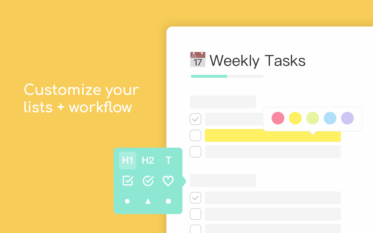Taskade - Create tasks, notes, and video chat, all on one page Screenshot