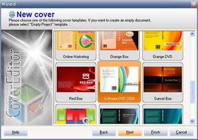Boxshot Software Screenshot