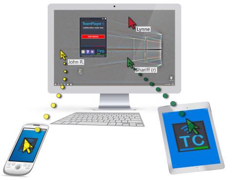 TeamPlayer4 Pro, Desktop Customization Software Screenshot