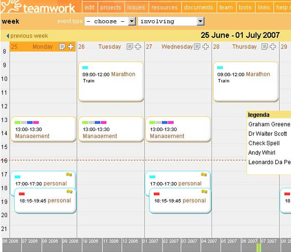Project Management Software, Teamwork Screenshot
