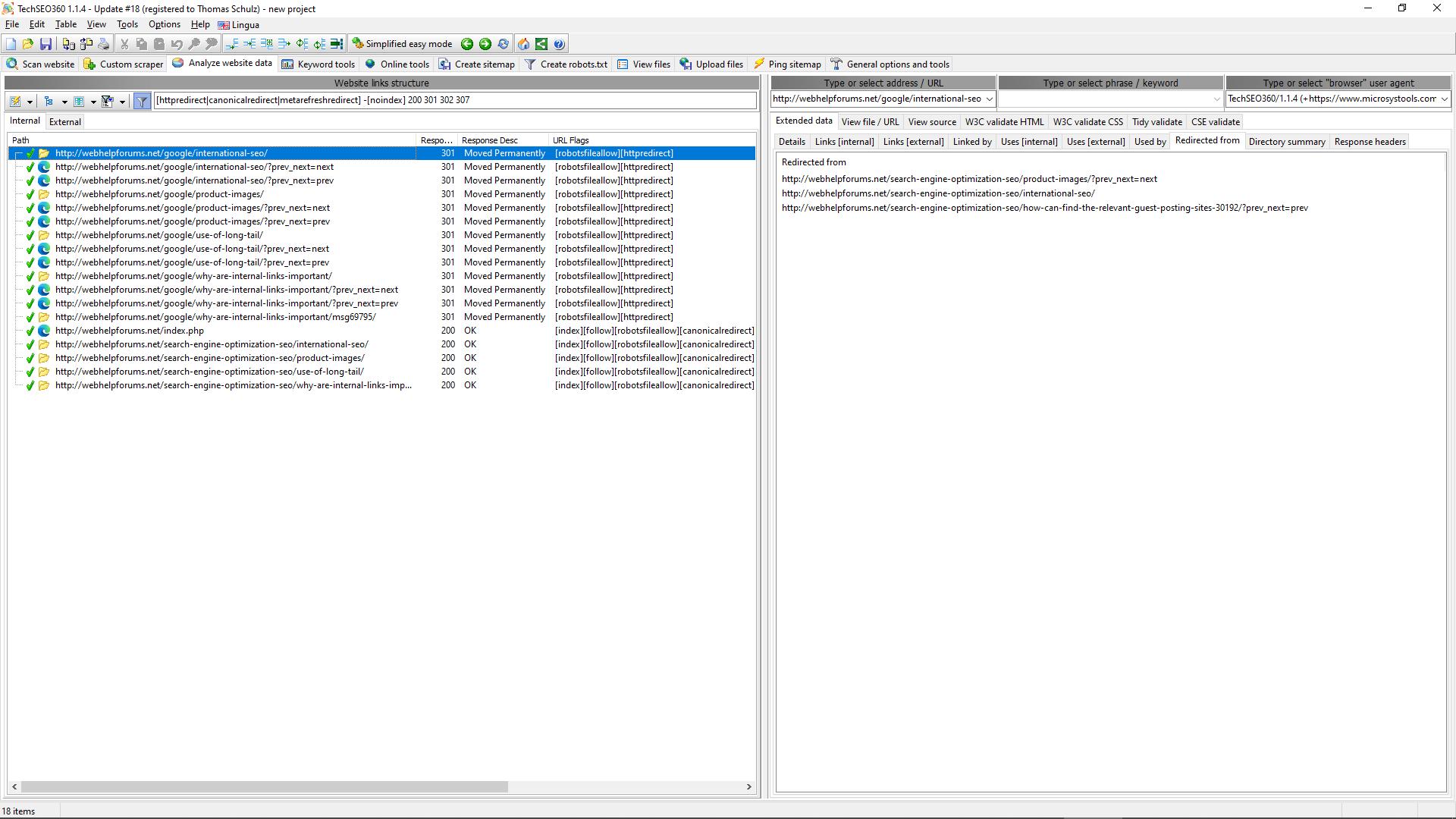 TechSEO360 Screenshot