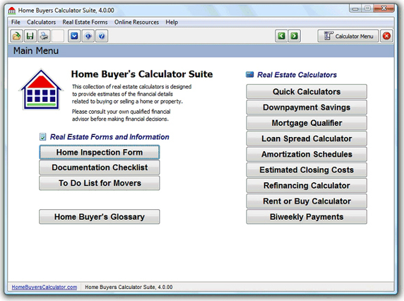 TedCo Real Estate Software Bundle Screenshot