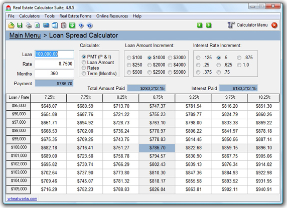TedCo Real Estate Software Bundle, Business & Finance Software Screenshot