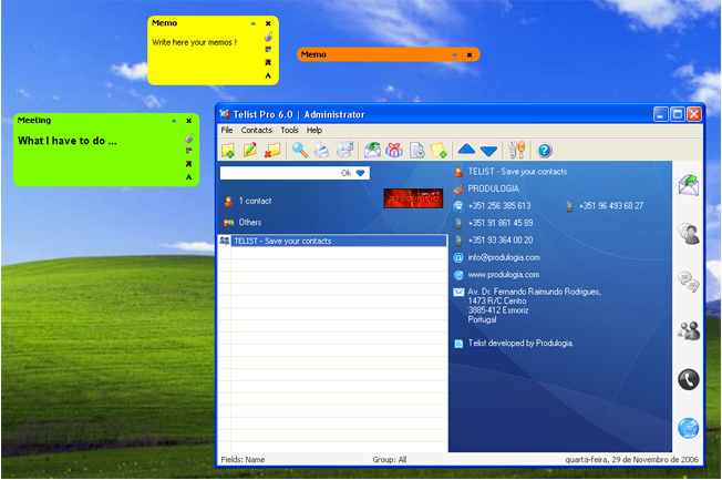 Telist Pro 6.0 Screenshot