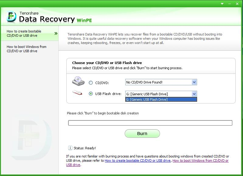 Tenorshare Data Recovery WinPE - Recovery Software - 50% off PC