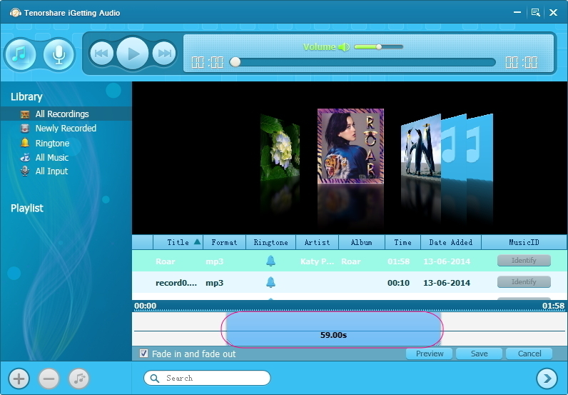 Tenorshare iGetting Audio Screenshot 12