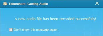 Tenorshare iGetting Audio Screenshot 9
