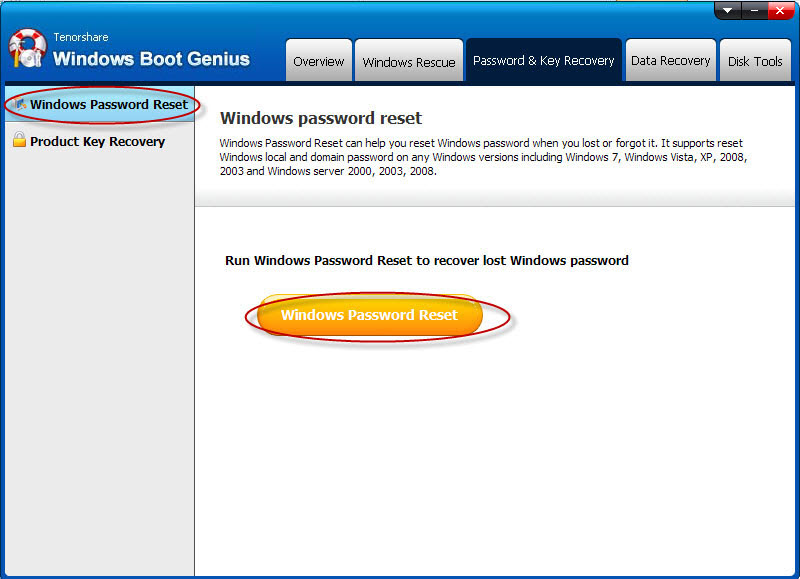 Tenorshare Windows Boot Genius Screenshot 9