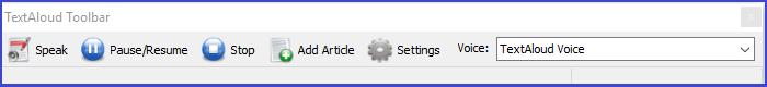 Audio Software, TextAloud 4 Screenshot